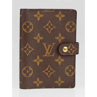 Louis Vuitton Monogram Canvas Small Agenda/Notebook Cover