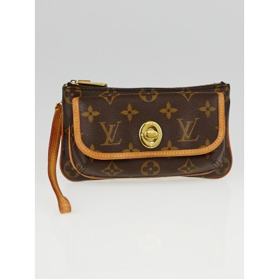 Louis Vuitton Monogram Canvas Tikal Pochette Bag
