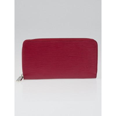 Louis Vuitton Fuchsia Epi Leather Zippy Wallet