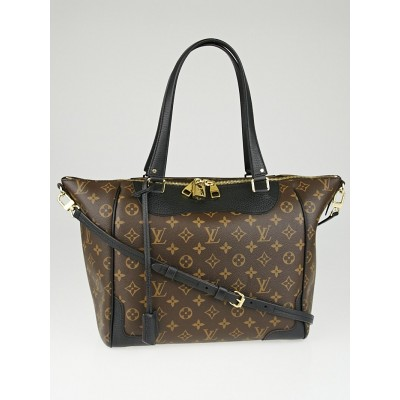 Louis Vuitton Black Monogram Canvas Estrela MM NM Bag