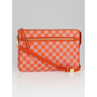 Louis Vuitton Limited Edition Piment Damier Couleur Modul Crossbody Bag