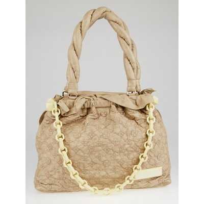 Louis Vuitton Limited Edition Beige Monogram Olympe Stratus GM Bag