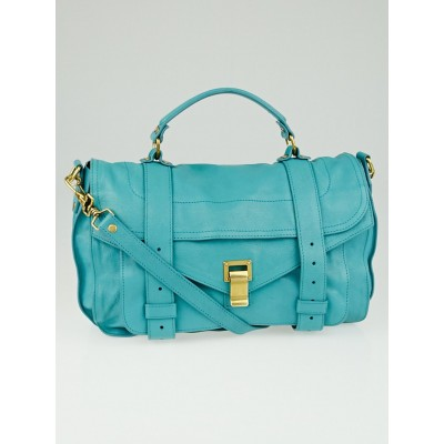 Proenza Schouler Lagoon Leather Medium PS1 Satchel Bag