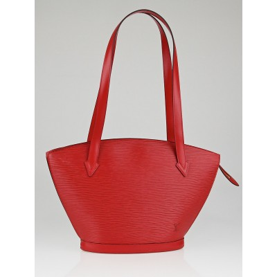 Louis Vuitton Rouge Epi Leather Saint Jacques PM Bag