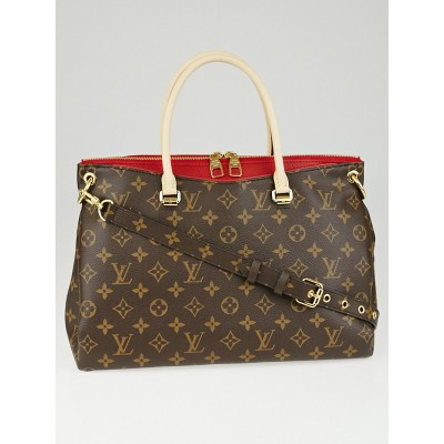 Louis Vuitton Cerise Monogram Canvas Pallas Bag