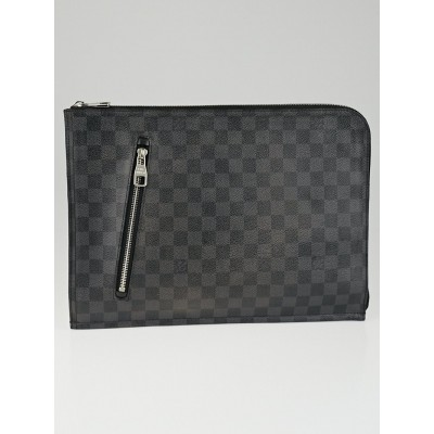 Louis Vuitton Damier Graphite Canvas Poche Documents