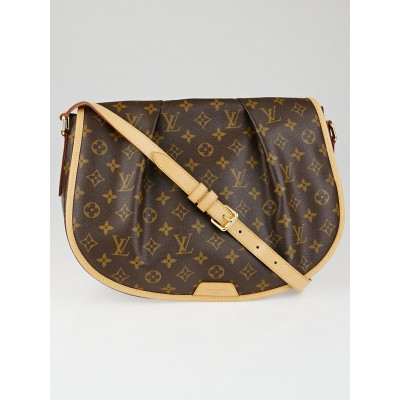 Louis Vuitton Monogram Canvas Menilmontant MM Bag
