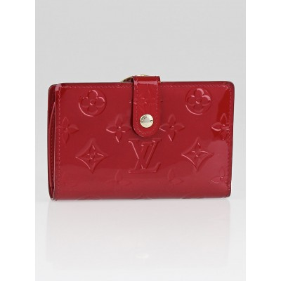 Louis Vuitton Pomme D'Amour Monogram Vernis Port Feuille Vienoise French Purse Wallet