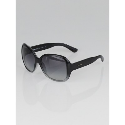 Prada Black Gradient Frame Oversized Sunglasses - SPR27M