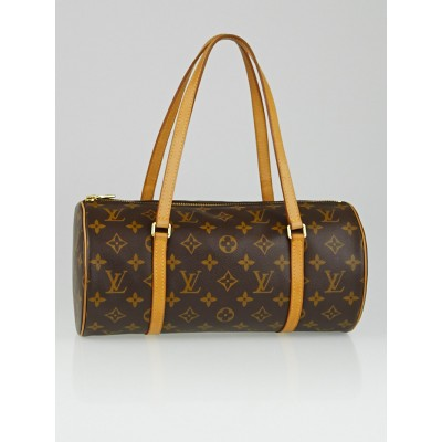 Louis Vuitton Monogram Canvas Papillon 30 Bag w/ Accessories Pochette