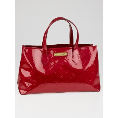 Louis Vuitton Pomme D'Amour Monogram Vernis Wilshire PM Bag