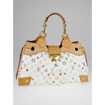 Louis Vuitton White Monogram Multicolore Ursula Bag