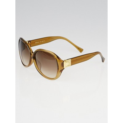 Louis Vuitton Honey Speckling Acetate Frame Soupcon Oversized Sunglasses