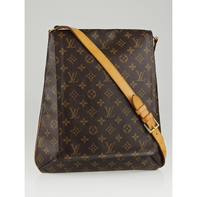 Louis Vuitton Monogram Canvas Musette w/ Long Strap Bag