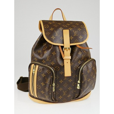 Louis Vuitton Monogram Canvas Sac a Dos Bosphore Backpack Bag