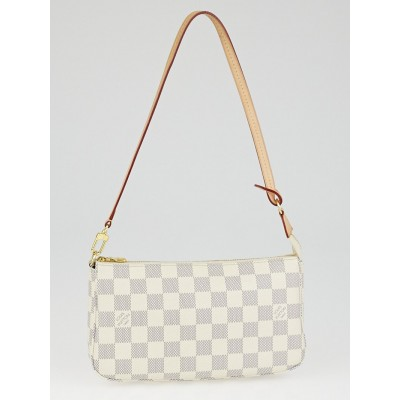 Louis Vuitton Damier Azur Canvas Accessories Pochette NM Bag
