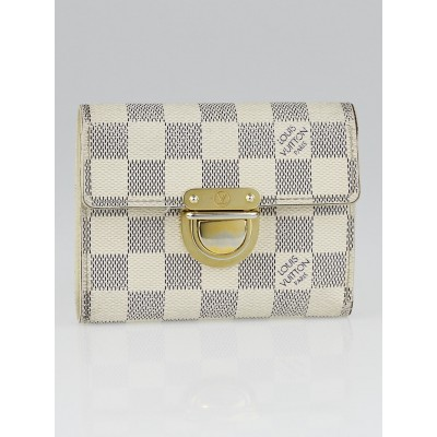 Louis Vuitton Damier Azur Canvas Koala Wallet