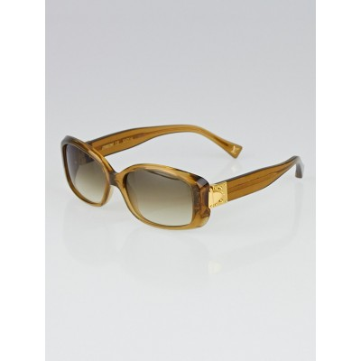 Louis Vuitton Gold Speckling Acetate Frame Soupcon GM Sunglasses