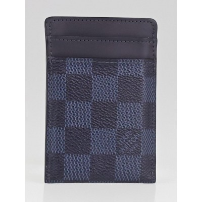 Louis Vuitton Damier Cobalt Canvas Card Holder
