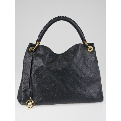 Louis Vuitton Bleu Infini Monogram Empreinte Leather Artsy MM Bag