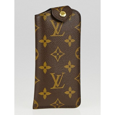 Louis Vuitton Monogram Canvas Sunglasses Case PM