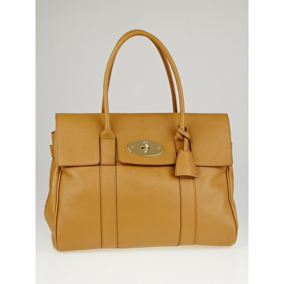 Mulberry Deer Brown Glossy Goat Leather Bayswater Bag