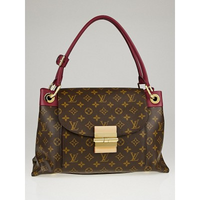 Louis Vuitton Aurore Monogram Canvas Olympe Bag