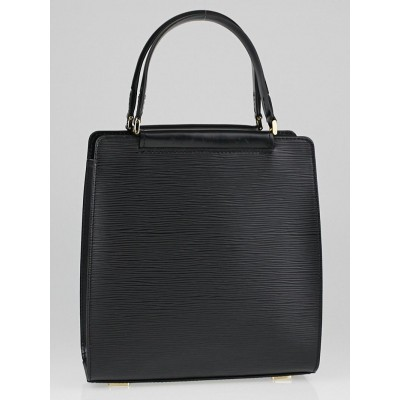 Louis Vuitton Black Epi Leather Figari PM Bag