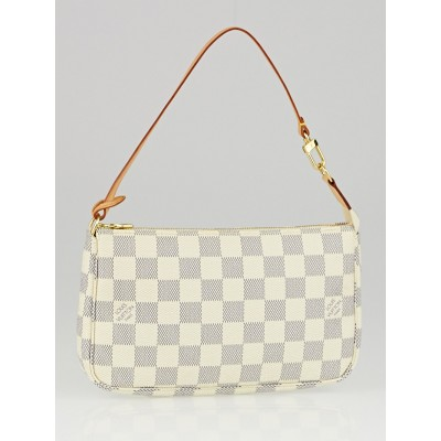 Louis Vuitton Damier Azur Canvas Accessories Pochette Bag