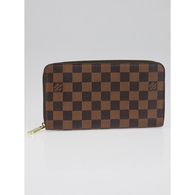 Louis Vuitton Damier Canvas Zippy Organizer Wallet