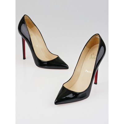Christian Louboutin Black Patent Leather So Kate 120 Pumps Size 7/37.5
