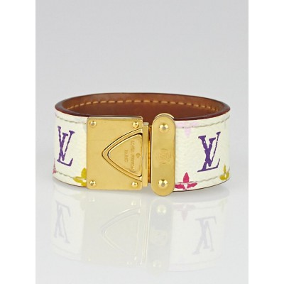 Louis Vuitton White Monogram Multicolore Koala Bracelet