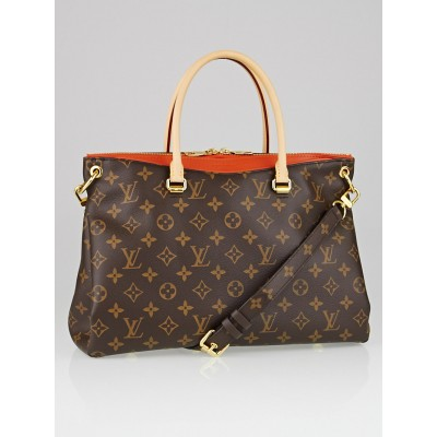 Louis Vuitton Clementine Monogram Canvas Pallas Bag