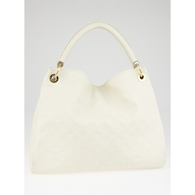 Louis Vuitton Neige Monogram Empreinte Leather Artsy MM Bag