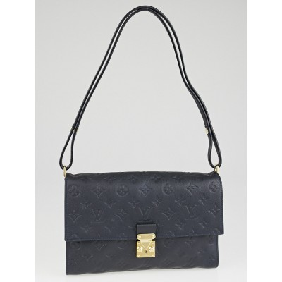 Louis Vuitton Blue Infini Monogram Empreinte Leather Fascinante Bag