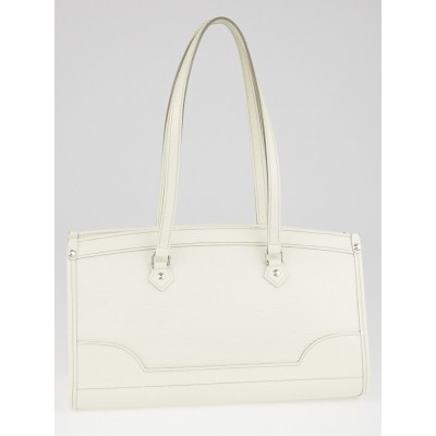 Louis Vuitton White Epi Leather Madeleine PM Bag