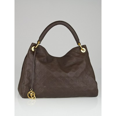 Louis Vuitton Terre Monogram Empreinte Leather Artsy MM Bag