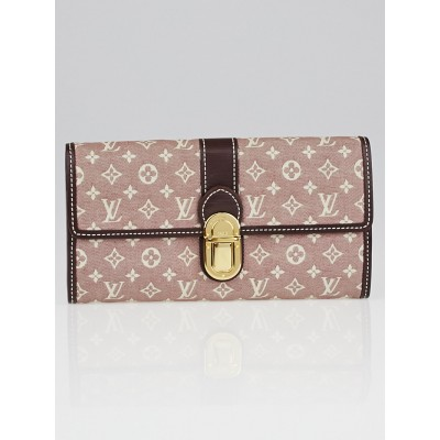 Louis Vuitton Sepia Monogram Idylle Canvas Sarah Wallet