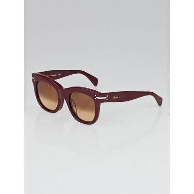 Celine Red Acetate Lucy Sunglasses-CL 41083