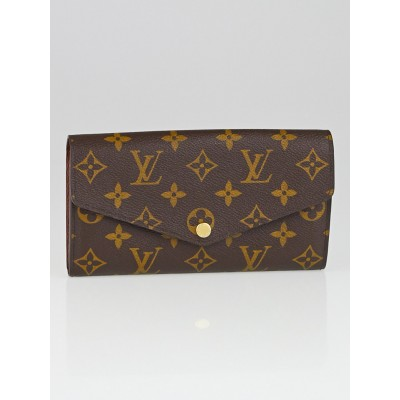 Louis Vuitton Monogram Canvas Sarah NM3 Wallet