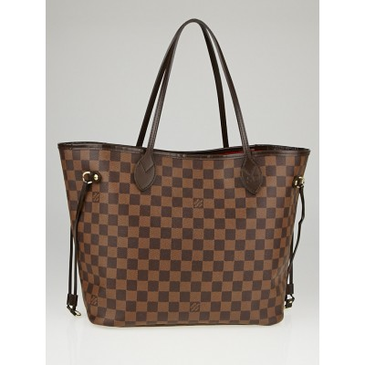 Louis Vuitton Damier Canvas Neverfull MM Bag