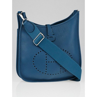 Hermes Colvert Clemence Leather Evelyne III PM Bag