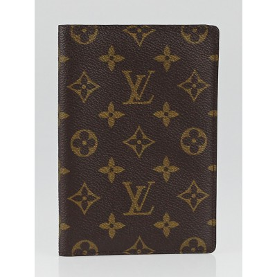 Louis Vuitton Vintage Monogram Passport Holder Cover