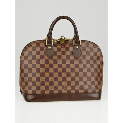 Louis Vuitton Damier Canvas Alma PM Bag