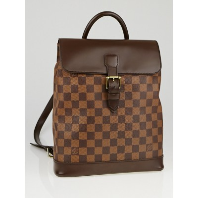Louis Vuitton Damier Canvas Soho Backpack Bag