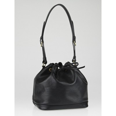 Louis Vuitton Black Epi Leather Petit Noe Bag