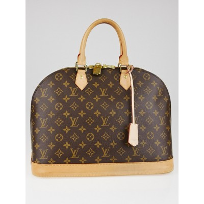 Louis Vuitton Monogram Canvas Alma GM Bag