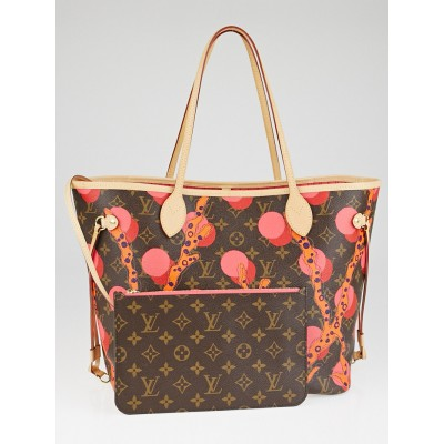 Louis Vuitton Limited Edition Grenade Monogram Ramages Neverfull MM NM Bag