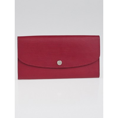 Louis Vuitton Fuchsia Epi Leather Emilie NM Wallet