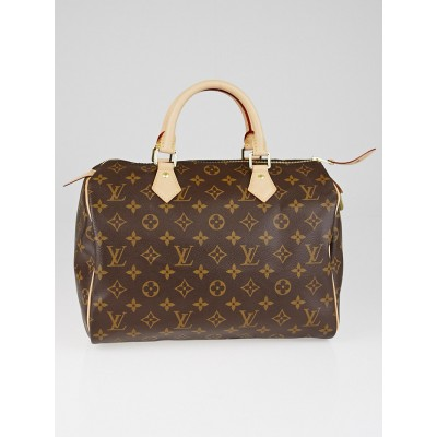 Louis Vuitton Monogram Canvas Speedy 30 NM Bag